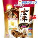 ケロッグ 玄米フレーク きなこ黒糖 袋(200g*6コセット)