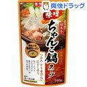 ダイショー 鮮魚亭 味噌ちゃんこ鍋スープ(750g)