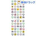 クリアーシール サッカーボール ZC049(1枚入)