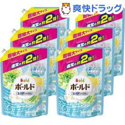 <strong>ボールド</strong> 洗濯洗剤 フレッシュピュアクリーンの香り 詰替え用 超特大サイズ(1.26kg*6コセット)【stkt02】【<strong>ボールド</strong>】[<strong>ボールド</strong> 詰め替え]