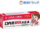 【第3類医薬品】口内炎軟膏大正A(6g)