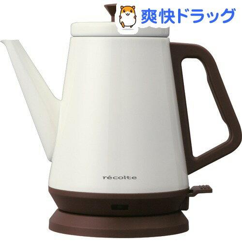 レコルト クラシックケトルリーブル ホワイト RCK-2(W)(1台)【レコルト(recolte)】【送料無料】