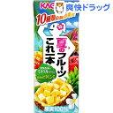 【訳あり】カゴメ 夏のフルーツこれ一本(200mL*12本入)