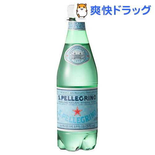 サンペレグリノ ペットボトル 炭酸水(500mL*24本入)【サンペレグリノ(s.pell…...:soukai:10049671