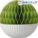 ロッカ 紙の加湿器 ボール グリーン RC-KP1303GR(1コ入)【ロッカ(Rocca)】[加湿器 卓上 風邪 ウィルス 予防]【送料無料】