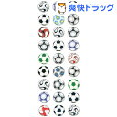 ラメ入りシール サッカーボール(1枚入)