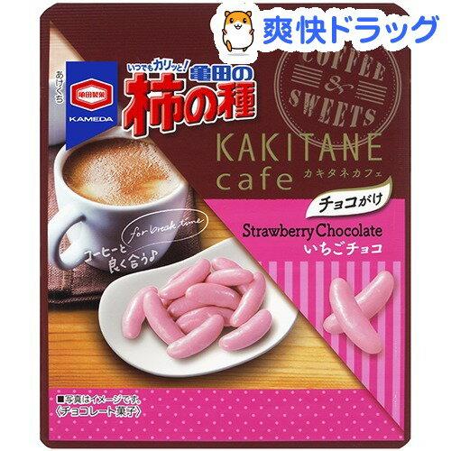 亀田製菓 亀田の柿の種 いちごチョコ 35g