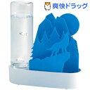 自然気化式エコ加湿器 うるおいアニマル ちいさな森 オオカミ ブルー ULT-OK-BL(1コ入)