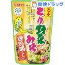 まつや とり野菜みそ 豆乳鍋スープ(720g)