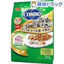 コンボ まぐろ味 かつおぶし 小魚添え(140g*5袋入)【コンボ(COMBO)】[コンボ キャット 猫 キャットフード ドライ]