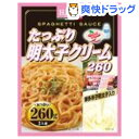ハチ食品 たっぷり明太子クリーム(260g)