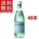 サンペレグリノ ペットボトル 炭酸水 正規輸入品(500mL*24本入*2コセット)【サンペレ