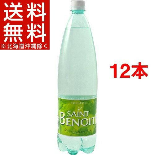 サンブノワ 炭酸水(1.25L*6本入*2コセット)【サンブノワ(Saint Benoit)】[ミネラルウォーター 水 1250ml 12本入]【送料無料(北海道、沖縄を除く)】