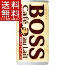 ボス カフェオレ(185g*30本入)【ボス】【送料無料(北海道、沖縄を除く)】