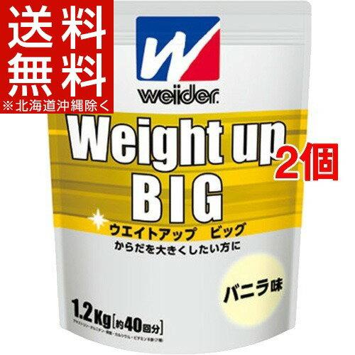 ウイダー ウエイトアップビッグ バニラ味(1.2...の商品画像