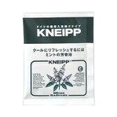 【ネコポス対応可】クナイプジャパン KNEIPP クナイプバスソルト ミントの香り 40g