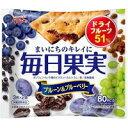 グリコ 毎日果実 プルーン&ブルーベリー 3枚×2袋入