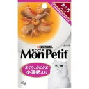 ネスレ Mon Petit モンプチパウチ スープ まぐろかにかま具だくさんスープ 小海老入り40g [ネスレピュリナペットケア]