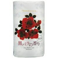 黒バラの香りトイレットペーパー 12R(ダブル)[四国特紙]