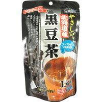 健茶館客氣的北海道生產黑豆茶4.5g*15袋[梶商店健茶館]