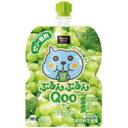 コカ・コーラ ミニッツメイド ぷるんぷるんQoo(クー) マスカット味125gパウチ6個入(中箱)[コカコーラ]