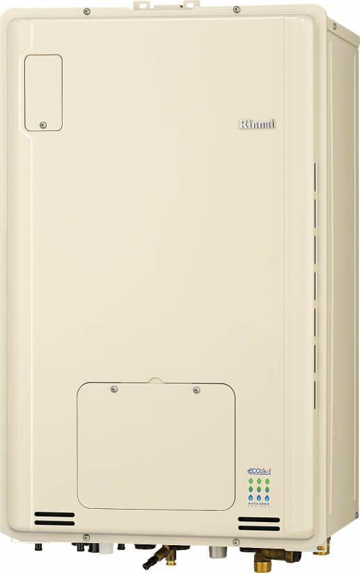 リンナイ エコジョーズ 温水暖房ふろ給湯器 オンライン RUFH-E1615AB2-3 床暖房3系統 熱動弁内蔵 16号 フルオート PS扉内後方排気型:ソウケン ネット販売部