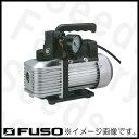 VP-120A FUSO 小型ツーステージ真空ポンプ(電磁弁、真空計付)