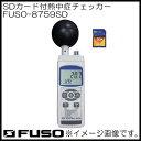 ショッピングsdカード SDカード付熱中症チェッカー FUSO-8759SD FUSO