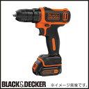 BDCDD12 10.8Vリチウム コードレスドリルドライバー ブラック&デッカー