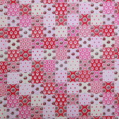 SOULEIADO ソレイアード シーチング生地 Baby patch(ベビーパッチ) ピンク