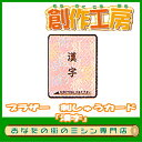 ブラザー刺しゅうカード漢字(ECD029)【RCP】