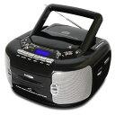 (在庫限り) ベアーマックス CDラジオカセットレコーダー/プレーヤー CD-889