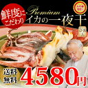 【お歳暮】【送料無料】プレミアムサイズ!!イカの一夜干し3枚セット晩酌のおつまみに日本海