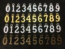 ☆金属チャーム 数字 セットA 10種類mix 100g入り 約150個 縦15mm 厚1.7mm アンティークゴールド(真鍮古美) シルバー ゴールド 銀古美 4色展開 0〜9 パーツ 加厚 しっかり