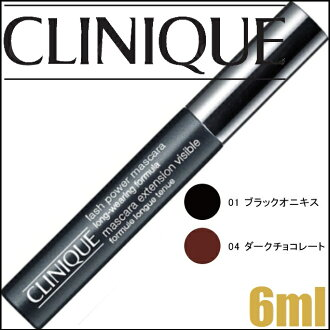 "Clinique ラッシュパワーマスカラ long were ring formula # 01 6ml [mascara» ""0020714206703"""