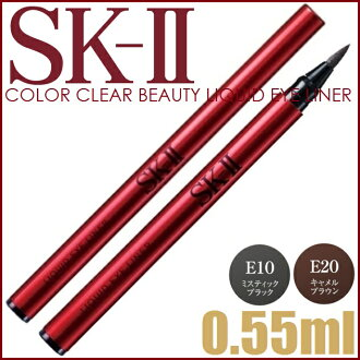 Maxfactor SK2 Color Clear Beauty Liquid Eyeliner 0.55ml≪Eyeliner≫