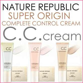 Nature Republic Super Origin CC Cream 45g SPF30/PA++≪Makeup Base≫