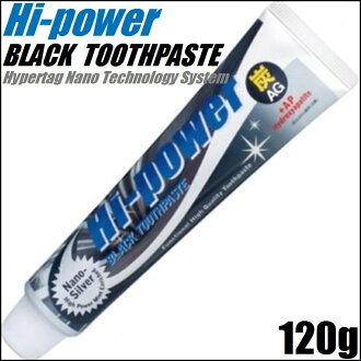 Hi-power Black Tooth Paste 120g≪Tooth Paste≫『4537307024034』