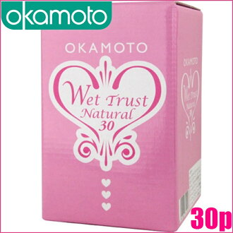 "Okamoto wet trust natural 30 «lubricating jelly» < OK-WN"",""4547691751249"""