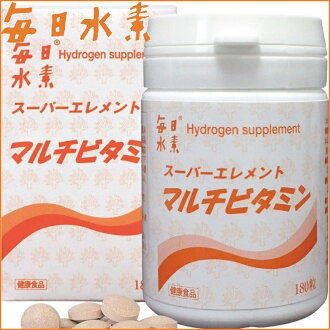 "Suntech every day hydrogen elements super multi vitamin 180 grit «calcium foods» ""4560207900238"""