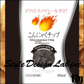 "Foods(Thailand) sold konjac chips fire pepper-17 g ""4972115603437"""
