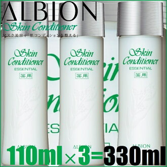 "■ 3-piece set ■ Albion medicated conditioner essential 330 ml (a 110ml×3 book) «lotion-Albion» 110 ml-165 ml more deals! ""4969527118253'"
