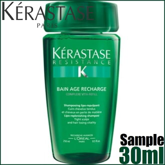 Kerastase RE Bain Age Recharge 30ml≪Hair Shampoo≫≪KR-RE≫『9999999999999』