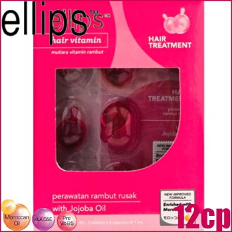 "Ellipse hair treatment 12 capsules for damaged hair seat hair vitamin ""8993417200922"""