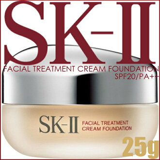 Maxfactor SK2 Facial Treatment Cream Foundation 420 Clear Beige SPF20/PA++ 25g≪Foundation≫『4979006050011』