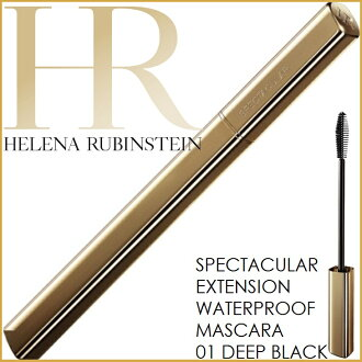 "4.6 ml of Helena Rubinstein spectacular extra curl waterproof 01 deep black ≪ mascara WP ≫"" 4992944830149"