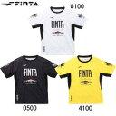 FINTA フィンタ トレーニングウェア 半袖サッカー フットサル ウェア プラシャツ FT8314