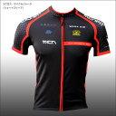 (メール便200円OK)MCN SPORTS 3クロス・サイクルジャージ(ショートスリーブ)(ES〜XL)自転車サイクルウェア・サイクリングウェア ..