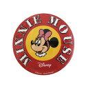 ショッピングミニー Disney ディズニー ノスタルジカ ミニーマウス/ロゴ/缶バッチ(大) APDS3577 / Kiitos キートス / スモール・プラネット