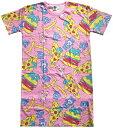 ショッピングケアベア ケアベア パターン ロングTシャツ CBAP221